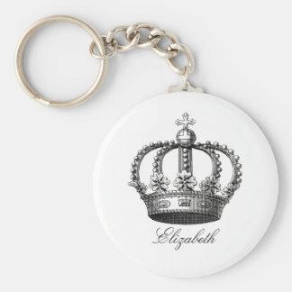 Porte-clés Porte - clé rond de couronne royale