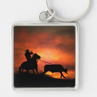 Porte-clés Porte - clé Roping de cowboy