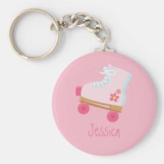 Porte-clés Porte - clé rose de Rollerskates