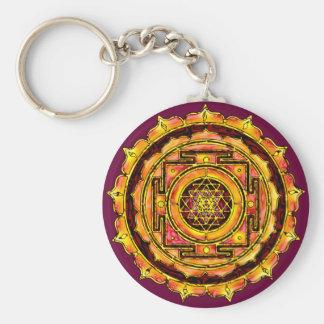 Porte-clés Porte - clé rose de Yantra