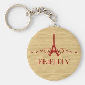 Porte-clés Porte - clé rouge de Flourish de Français