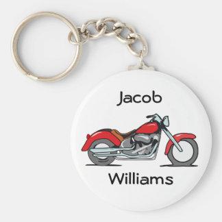 Porte-clés Porte - clé rouge de moto
