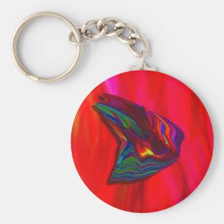 Porte-clés Porte - clé rouge de papillon