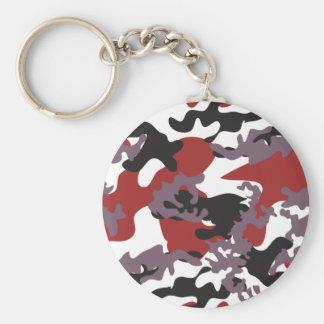 Porte-clés Porte - clé rouge fait sur commande de Camo