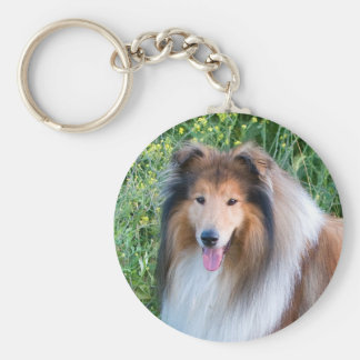 Porte-clés Porte - clé rugueux de portrait de chien de