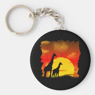Porte-clés Porte - clé sauvage de girafe