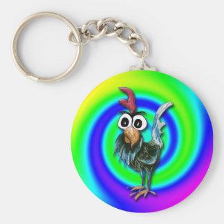 Porte-clés Porte - clé sauvage et fou de coq