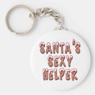 Porte-clés Porte - clé sexy de l'aide de Père Noël
