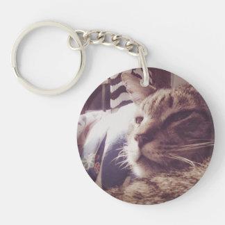 Porte-clés Porte - clé somnolent vintage de la photo | de