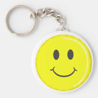 Porte-clés porte - clé souriant