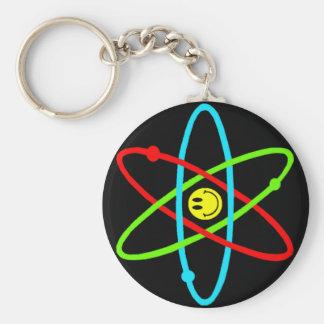 Porte-clés Porte - clé souriant atomique