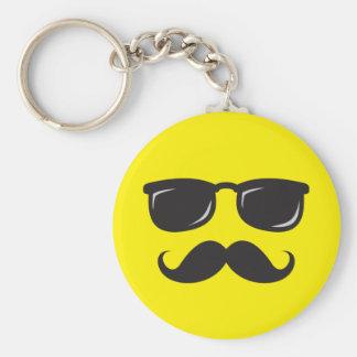 Porte-clés Porte - clé souriant incognito d'amusement avec la