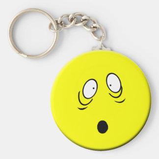 Porte-clés Porte - clé souriant inquiété
