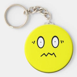 Porte-clés Porte - clé souriant soumis à une contrainte