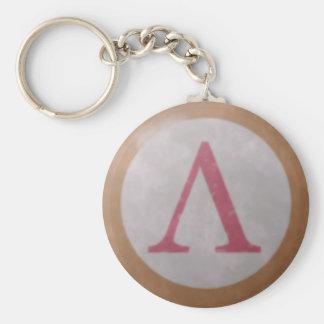 Porte-clés Porte - clé spartiate de bouclier