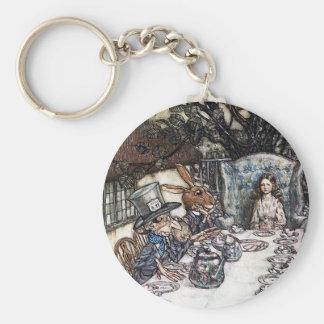 Porte-clés Porte - clé :  Thé fou de chapelier - par Rackham