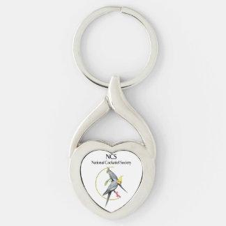 Porte-clés Porte - clé torsadé par NCS de coeur