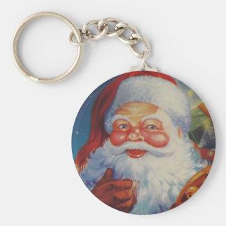 Porte-clés Porte - clé très frais du père noël