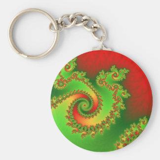 Porte-clés Porte - clé triple de pirouette de Noël
