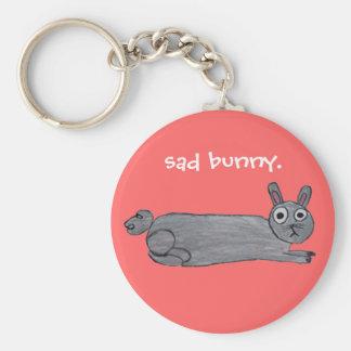 Porte-clés Porte - clé triste de lapin