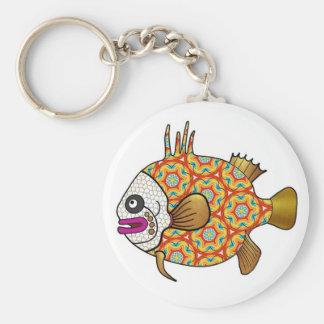 Porte-clés Porte - clé tropical de poissons - 03