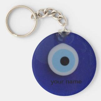Porte-clés Porte - clé turc d'étiquette d'amulette d'oeil