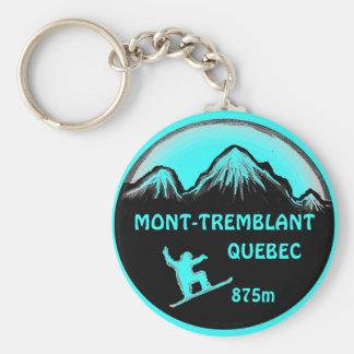 Porte-clés Porte - clé turquoise d'art de surf des neiges de