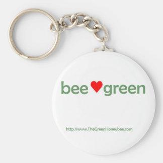 Porte-clés Porte - clé vert d'abeille