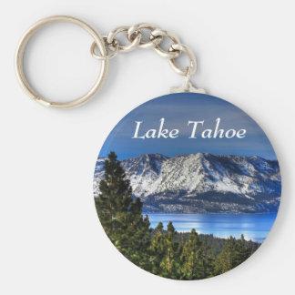 Porte-clés Porte - clé vert de baie de coucher du soleil du