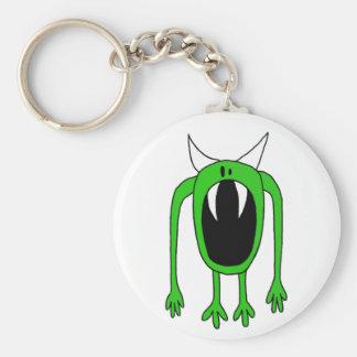 Porte-clés Porte - clé vert de monstre
