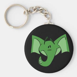 Porte-clés Porte - clé vert d'éléphant