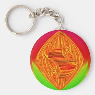 Porte-clés Porte - clé vert rouge de Colorbox