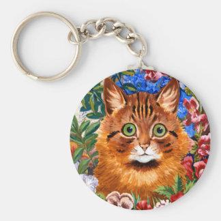 Porte-clés Porte - clé vintage de chat de jardin de Louis