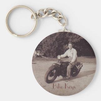 Porte-clés Porte - clé vintage de nouveauté de moto de