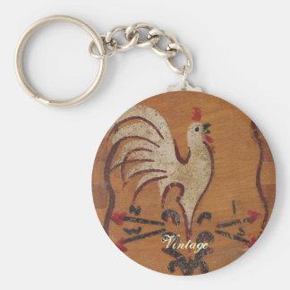 Porte-clés Porte - clé vintage de poulet