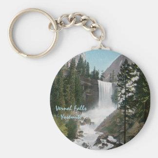 Porte-clés Porte - clé vintage de Yosemite d'automnes vernaux