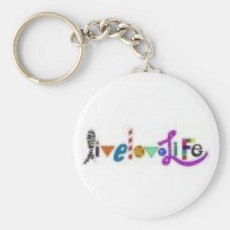 Porte-clés porte - clé vivant de la vie d'amour