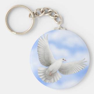 Porte-clés Porte - clé volant de colombe