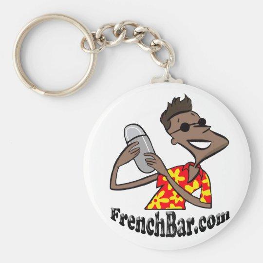 Porte-clés porte clef frenchbar