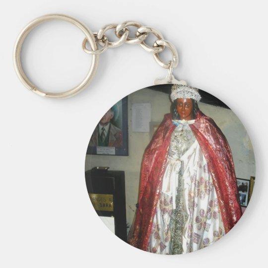 Porte-clés porte clef sainte sara
