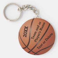 Porte - clés bon marché de basket-ball 3 modèles