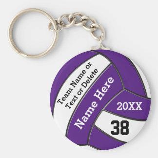 Porte-clés Porte - clés bon marché de volleyball votre texte