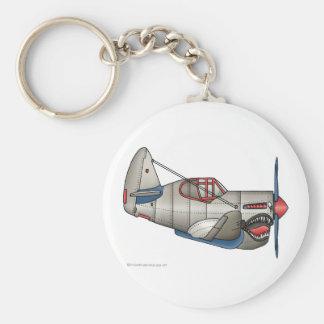 Porte-clés Porte - clés d'avion de combat de 2ÈME GUERRE