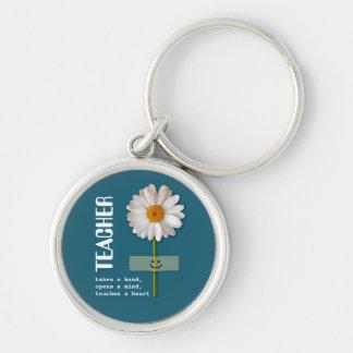 Porte-clés Porte - clés de sourire de cadeau de marguerite