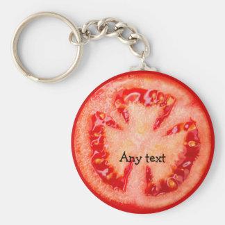 Porte-clés Porte - clés de thème de tomate
