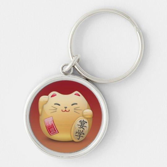 Porte-clés porte clés maneki-neko Chat japonais