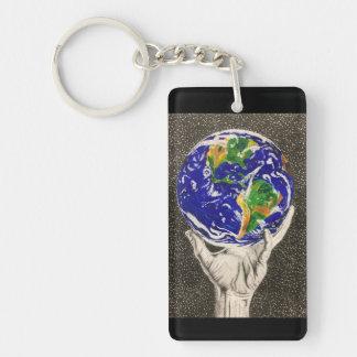 Porte-clés Porte-clés/porte - clé tenus de la terre
