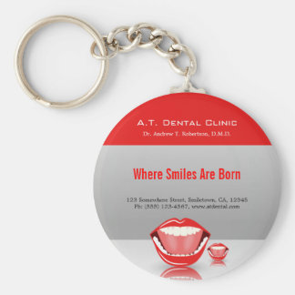Porte-clés Porte - clés promotionnels de grand dentiste