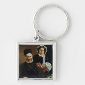 Porte-clés Portrait de Manet | de M et de Mme. Auguste Manet