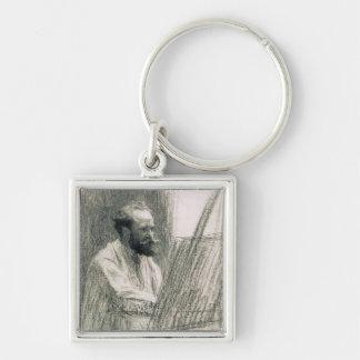 Porte-clés Portrait de Manet | d'Edouard Manet à son chevalet